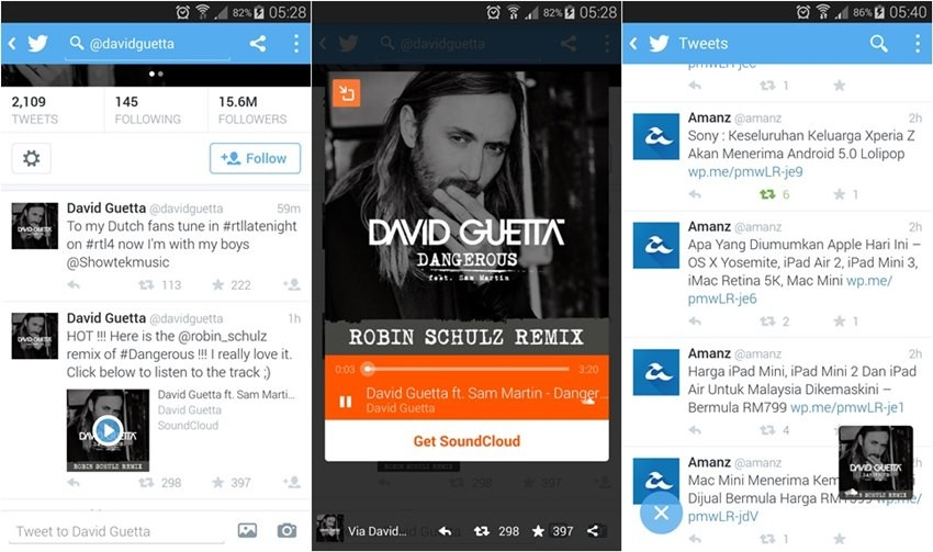 Twitter permite ahora compartir archivos de audio